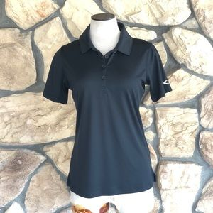 {Oakley} NWT Black Polo